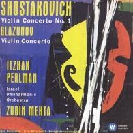 Itzhak Perlman (Ицхак Перлман): Violin Concerto No. 1 / Violin Concerto - Perlman, Israel Philharmonic Orchestra / Mehta