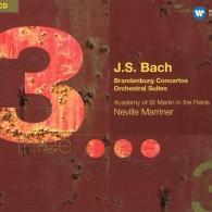 Academy Of St Martin In The Fields (АкадемияСвятогоМартина): Brandenburg Concertos Nos.1-6. Orchestral Suites Nos.1-4
