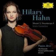Hilary Hahn (Хилари Хан): Mozart: Violin Concerto No.5/ Violin Concerto No.4