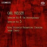 "Carl Nielsen (Карл Нильсен): Symphony No. 4, ""The Inextinguishable""; Symphony No.5"