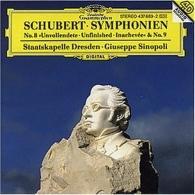 "Giuseppe Sinopoli (Джузеппе Синополи): Schubert: Symphony Nos.8 ""Unfinished"" & 9"