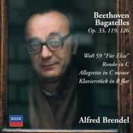 Alfred Brendel (Альфред Брендель): Beethoven: Bagatelles Opp.33, 119 & 126; Fur Elise