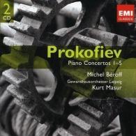 Michel Beroff (МишельБеро́ф): Piano Concertos
