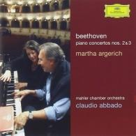 Martha Argerich (Марта Аргерих): Beethoven: Piano Concertos Nos. 2 & 3