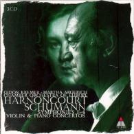 Nikolaus Harnoncourt (Николаус Арнонкур): Symphonies 1-4 & Violin & Piano Concertos