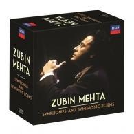 Zubin Mehta (Зубин Мета): Symphonies And Symphonic Poems