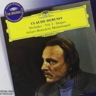 Arturo Benedetti Michelangeli (Артуро Бенедетти Микеланджели): Debussy: Preludes Vol.1 Images 1&2