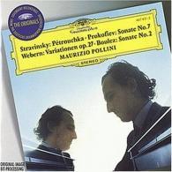 Maurizio Pollini (Маурицио Поллини): Stravinsky, Prokofiev,Webern