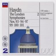 Sir Colin Davis (Колин Дэвис): Haydn: The London Symphonies - Nos. 93, 94, 97 & 9