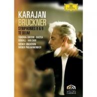 Herbert von Karajan (Герберт фон Караян): Bruckner: Symphonies 8 & 9; Te Deum
