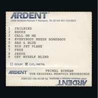 Primal Scream (Примал Скрим): Give Out But Don'T Give Up - The Original Memphis Recordings