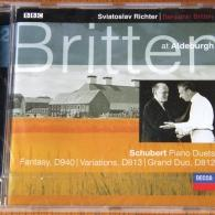 Sviatoslav Richter (Святослав Рихтер): Schubert: Fantasy in F minor for piano duet; Grand