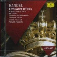 Trevor Pinnock (Тревор Пиннок): Handel: Zadok The Priest