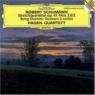 Hagen Quartett (Квартет Хаген): Schumann: String Quartet Op.41 Nos.2 & 3