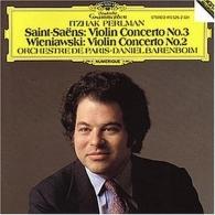 Itzhak Perlman (Ицхак Перлман): Saint-Saens: Violin Concerto No.3 / Wieniawski: Violin Concerto No.2