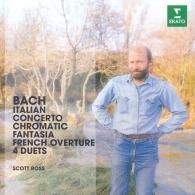 Scott Ross (Cкотт Росс): Italian Concerto, Chromatic Fantasy & Fugue, 4 Duets