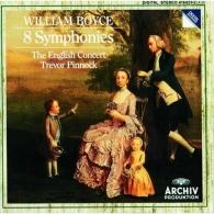 Trevor Pinnock (Тревор Пиннок): William Boyce: 8 Symphonies