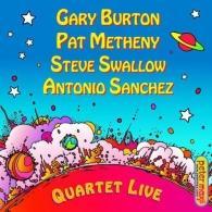 Gary Burton (Гэри Бёртон): Quartet Live!