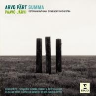 Paavo Jarvi (Пааво Ярви): Summa, Symphony No. 3, Fratres, Canticles In Memoriam Britten