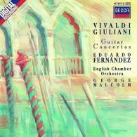 Eduardo Fernandez: Giuliani/ Vivaldi: Guitar Concertos