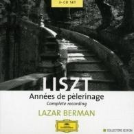 Lazar Berman (Берман Лазарь): Liszt: Annees de Pelerinage