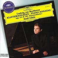 """Emil Gilels (Эмиль Гилельс): Beethoven: Piano Sonatas Opp. 101 & 106 """"Hammerkla"""