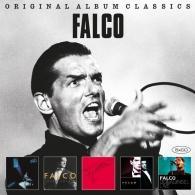Falco (Фалько): Original Album Classics (Einzelhaft / Junge Roemer / Falco 3 / Falco Symphonic / Donauinsel Live)