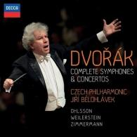 Jiri Belohlavek (Йиржи Белоглавек): Dvorak: Complete Symphonies & Concertos