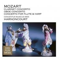 Nikolaus Harnoncourt (Николаус Арнонкур): Clarinet Concerto, Oboe Concerto & Concerto For Flute And Harp (Daw 50)
