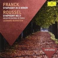 Leonard Bernstein (Леонард Бернстайн): Franck: Symphony In D Minor/ Roussel: Symphony No.3