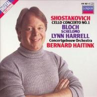Bernard Haitink (Бернард Хайтинк): Shostakovich: Cello Concerto No.1/ Bloch: Schelomo