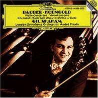 Gil Shaham (Гил Шахам): Barber/Korngold:Violin Concertos