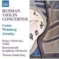 Bournemouth Symphony Orchestra: Russian Violin Concertos