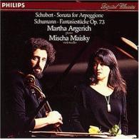 Martha Argerich (Марта Аргерих): Schumann: Fantasiestucke/ Schubert: Arpeggione Sonate