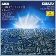 Herbert von Karajan (Герберт фон Караян): Bach:Brandenburg Concertos