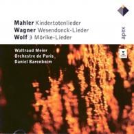 Daniel Barenboim (Даниэль Баренбойм): Mahler, Wagner & Wolf: Lieder