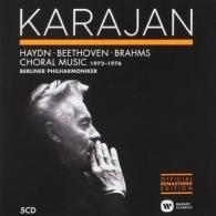 Herbert von Karajan (Герберт фон Караян): Choral Music - Haydn, Beethoven, Brahms (1972-1976)