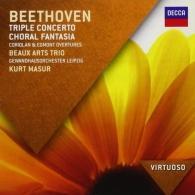 Kurt Masur (Курт Мазур): Beethoven: Triple Concerto; Choral Fantasia