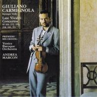 Giuliano Carmignola (ДжулианоКарминьола): Late Violin Concertos
