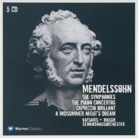 Cyprien Katsaris (Сиприан Кацарис): Symphonies Nos 1 - 5, Piano Concertos Nos 1, 2 & A Midsummer Night's Dream