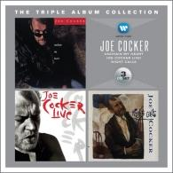 Joe Cocker (Джо Кокер): Triple Album Collection: Unchain My Heart / Joe Cocker Live! / Night Calls