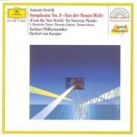 Herbert von Karajan (Герберт фон Караян): Dvorak: Symphony No.9; Slavonic Dances op. 46 Nos.