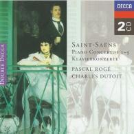 Pascal Rogé: Saint-Saens: Piano Concertos Nos. 1-5