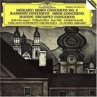 Claudio Abbado (Клаудио Аббадо): Mozart: Horn Concerto No.3; Bassoon Concerto