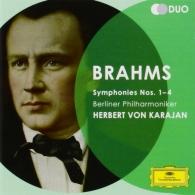 Herbert von Karajan (Герберт фон Караян): Brahms: Symphonies