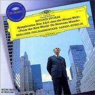 "Rafael Kubelik (Рафаэль Кубелик): Dvor?k: Symphony Nos.8 & 9 ""From The New World"""
