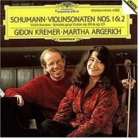Gidon Kremer (Гидон Кремер): Schumann: Violin Sonatas Nos.1 & 2