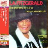 Ella Fitzgerald (Элла Фицджеральд): Things Ain'T What They Used To Be