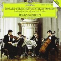 Hagen Quartett (Квартет Хаген): Mozart: String Quartets 589 & 590
