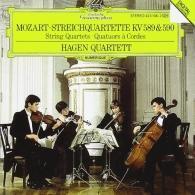 Hagen Quartett (Квартет Хаген): Mozart: String Quartets 589 & 590